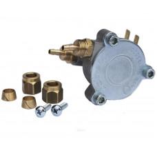 Клапан газа Torelli аналог клапана редуктора Taurus, Tomasetto под трубку ПВХ 6мм