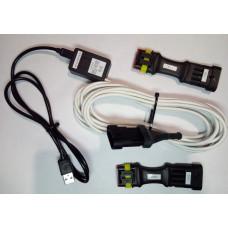 Кабель гбо Stag, AEB, Zenit универсальный аналог оригинального кабеля Stag с индикацией