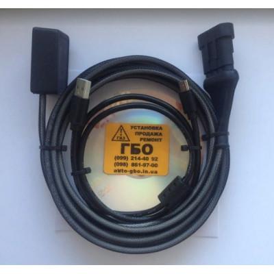 FTDI Кабель шнур Digitronic для настройки ГБО Digitronic интерфейс с индикацией для настройки Гбо Digitronic