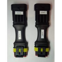 Переходники гбо Stag-Zenit Stag-AEB комплект полноценных 4-х контактных переходников гбо для любых видов кабелей Stag.