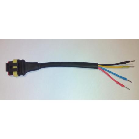 Профессиональный переходник с диагностического кабеля Stag на шнур для диагностики гбо 4 го поколения всех производителей