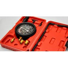 Вакуумметр для измерения вакуума в двигателе для оценки исправности двигателя а также проверки утечек или подсоса воздуха в системе вакуума двигателя используется в гбо