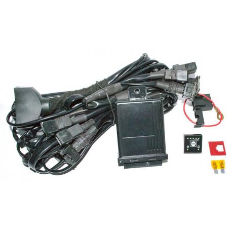 Эмулятор EG GAS 3 в 1 (с фишками Bosh) эмулятор форсунок+эмулятор лямбда зонда+кнопка с индикацией как у 4 го поколения для гбо 2 го поколения