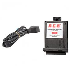 Эмулятор форсунок AEB 4 цилиндровый без фишек универсальный с пучком проводов