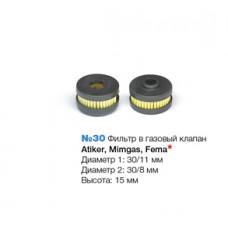 Фильтр в газовый клапан Atiker, Mimgas, Fema №30