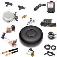 Комплект ГБО 2-го поколения для инжекторного автомобиля с тороидальным баллоном