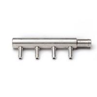 Монтажный набор блока форсунок Hana Single 4 цилиндра алюминий