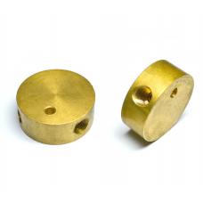 Тройник 6х6х6 металл для соединения медной трубки гбо 6мм.