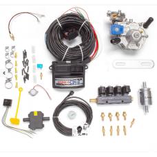 Мини-комплект ГБО 4 поколения STAG 4 QBox редуктор Alaska, форсунки Torelli, фильтр, температурный датчик Бельгия