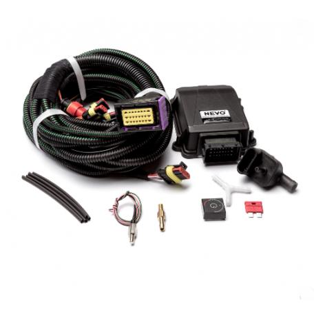 Электроника KME Nevo 4 цилиндра  c проводкой без датчика уровня газа