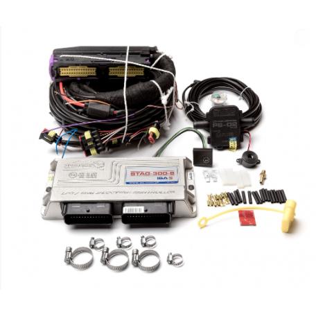 Электроника Stag 300 ISA2 на 8 цилиндров с проводкой