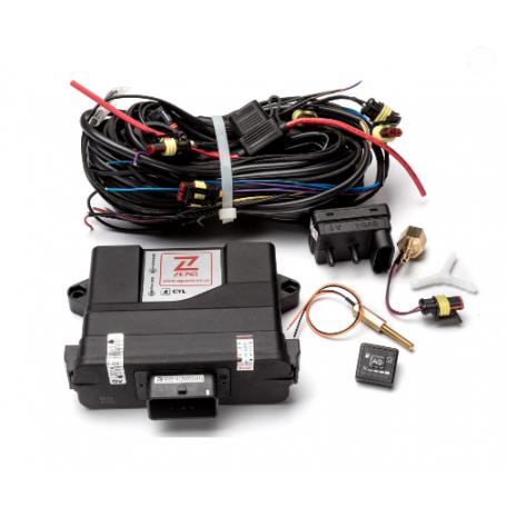 Электроника Zenith Pro 4 цилиндра с проводкой